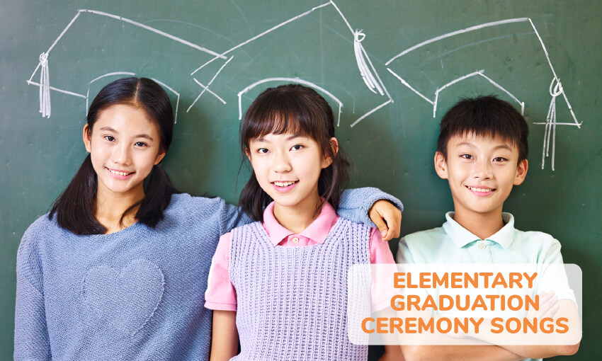 A collection of elementary graduation ceremony songs.