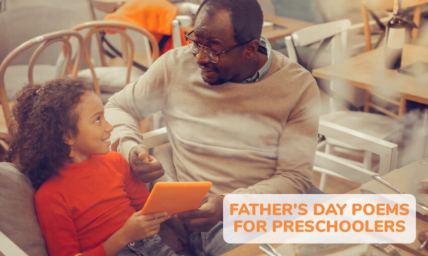 A collection of Father's Day poems for preschoolers.