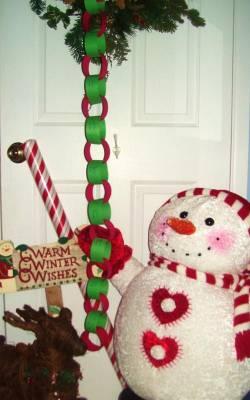christmas paper chain countdown