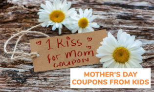 How to make Mother's Day coupons from kids. Coupons are a great and cost effective gift for kids to give to mom this Mother's Day.