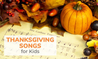 A collection of Thanksgiving songs for kids. This is a great way to bring in the holiday season and music is a great Thanksgiving activity idea.