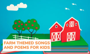 A collection of farm themed songs and poems for kids.