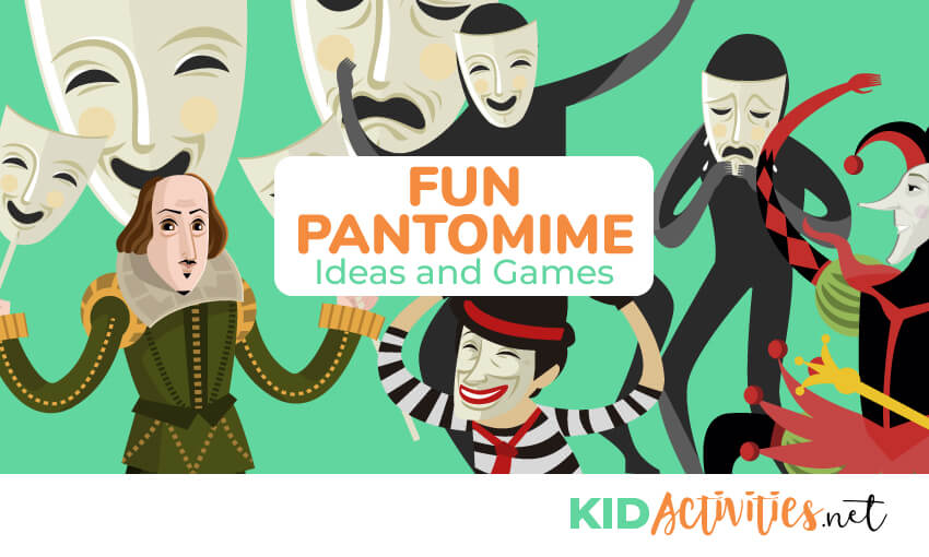 A collection of fun pantomime games and ideas.