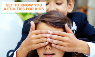 A collection of fun get to know you activities for kids.