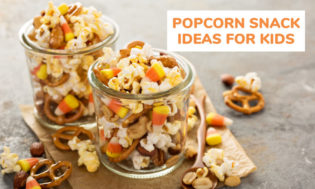 A collection of popcorn snack ideas for kids. Great for popcorn themed classroom activities.
