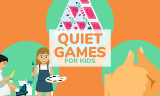 A collection of quiet games for kids. Great for the classroom and a good way to get kids settled down.