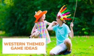 A collection of western themed game ideas for kids. Great for a western theme day.