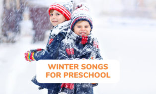 A collection of winter songs for kids to sing in the classroom.