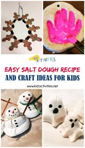 Easy Salt Dough Recipe and Craft ideas