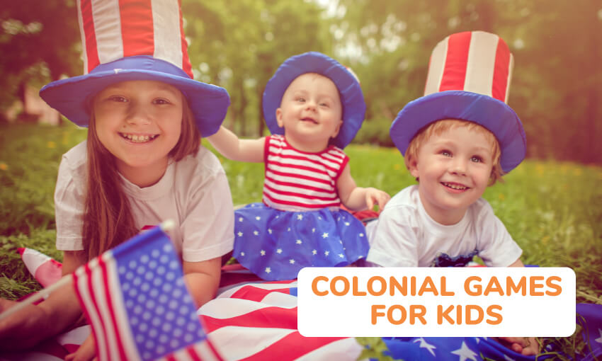 2041104d7b5 33 Colonial Activities for Kids