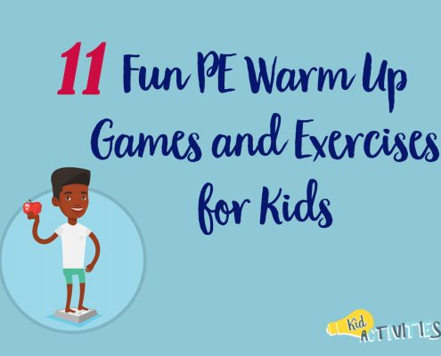 Fun PE warm Up Games and Exercises for Kids
