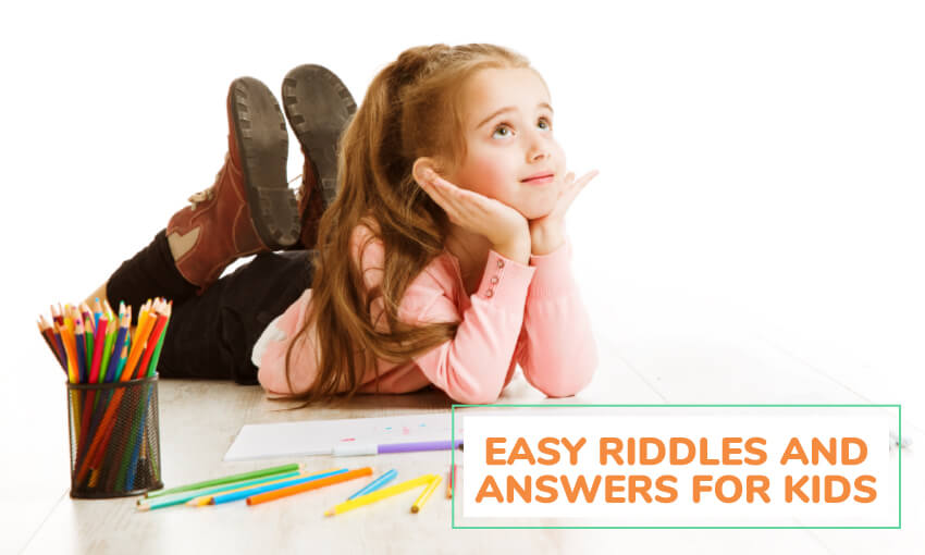 A collection of easy riddles and answers for kids.