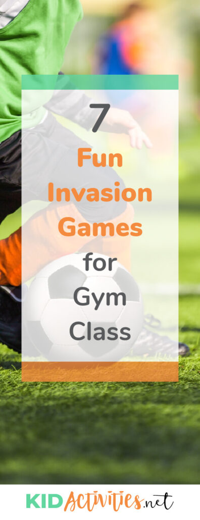 A collection of fun invasion games for gym class. This is a great way to entertain and exercise.