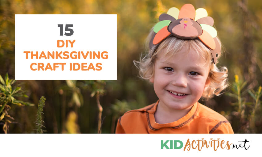 Thanksgiving crafts for kids.
