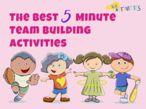 5 minute team building activities