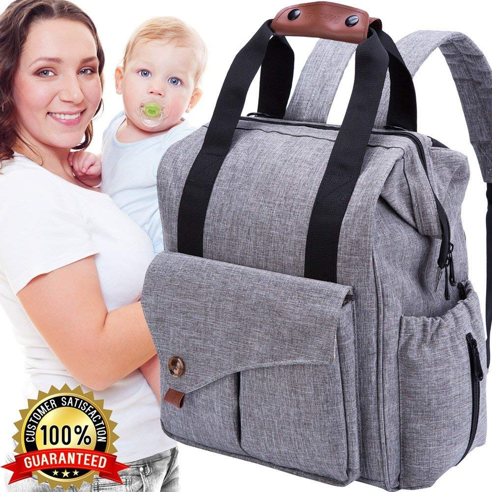 The Best Backpack Diaper Bag for Twins -
