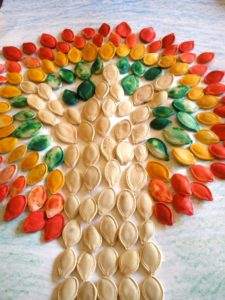 Pumpkin-seed-mosaic