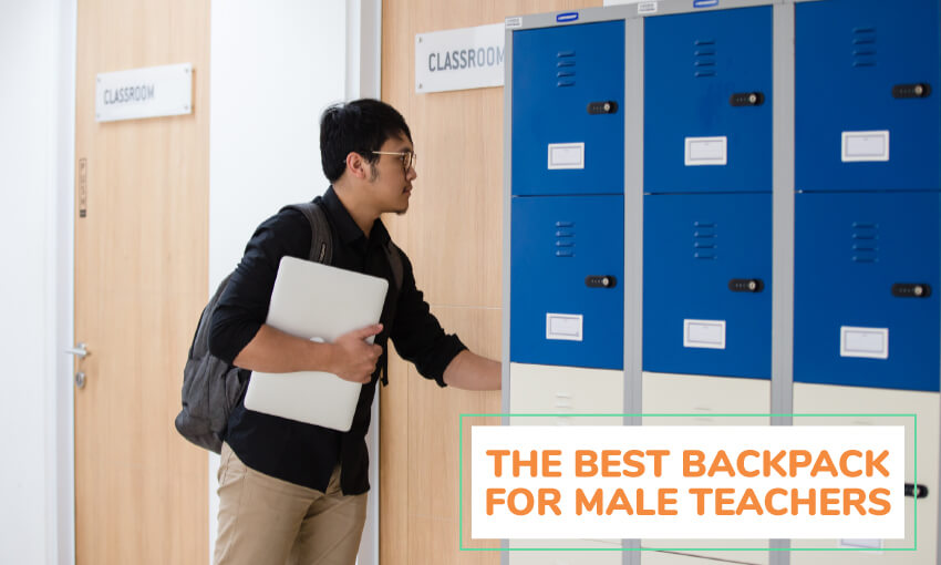 The best backpack for male teachers.