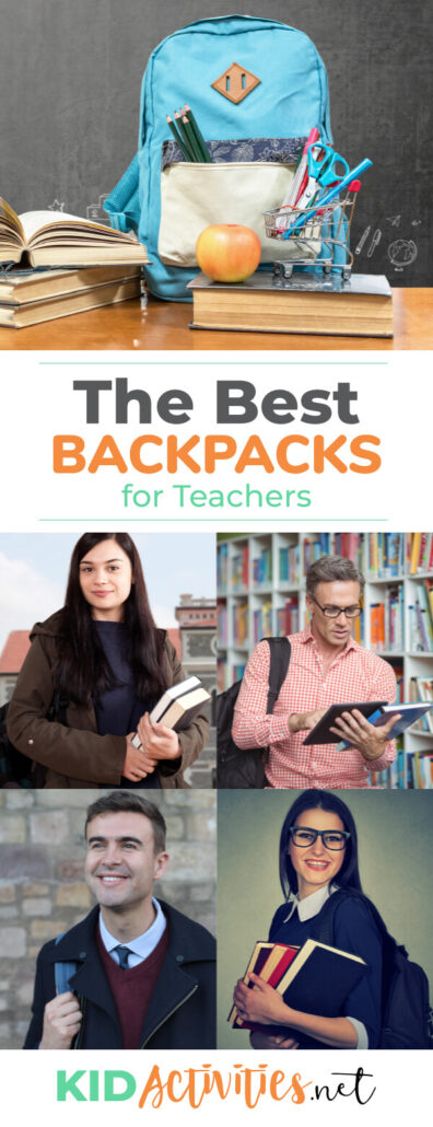 A collection of the best backpacks for teachers. You will find stylish and practical backpacks for male and female teachers.