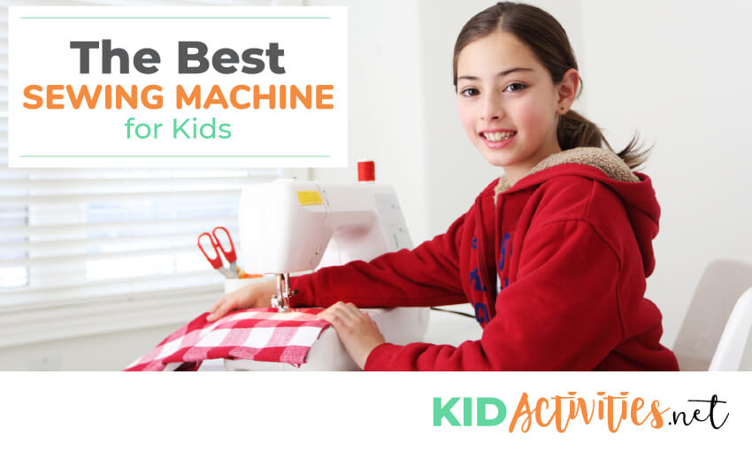 A collection of the best sewing machines for kids.