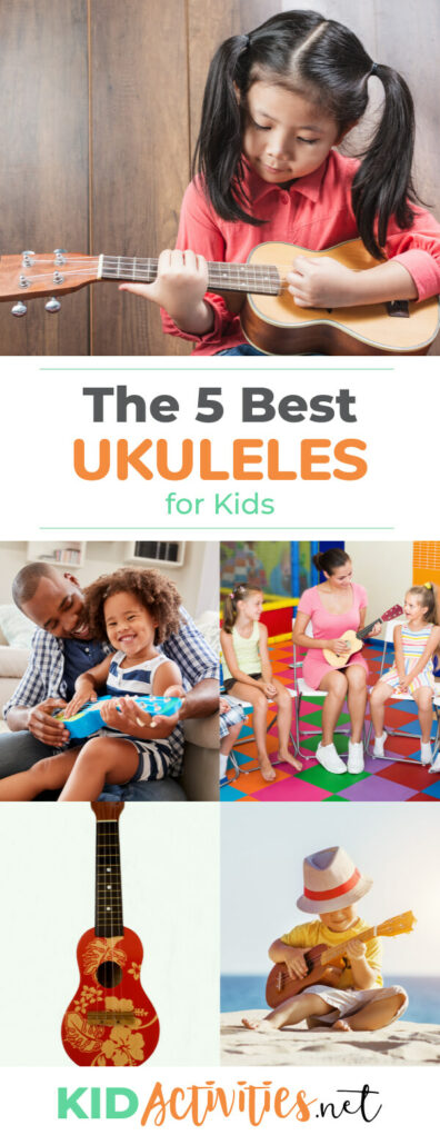 A collection of the best ukuleles for kids. Get detailed information to help you find the best ukulele for your child.