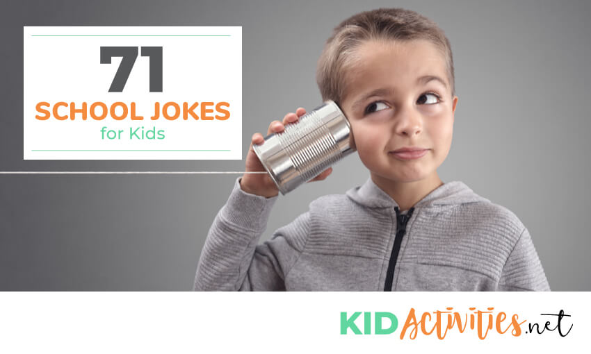 A collection of school jokes for kids.