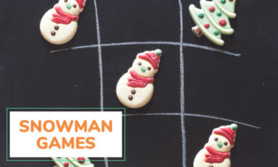A collection of snowman games for kids to play.