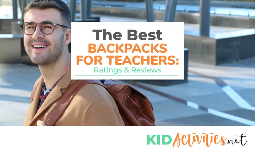A collection of the best backpacks for teachers.
