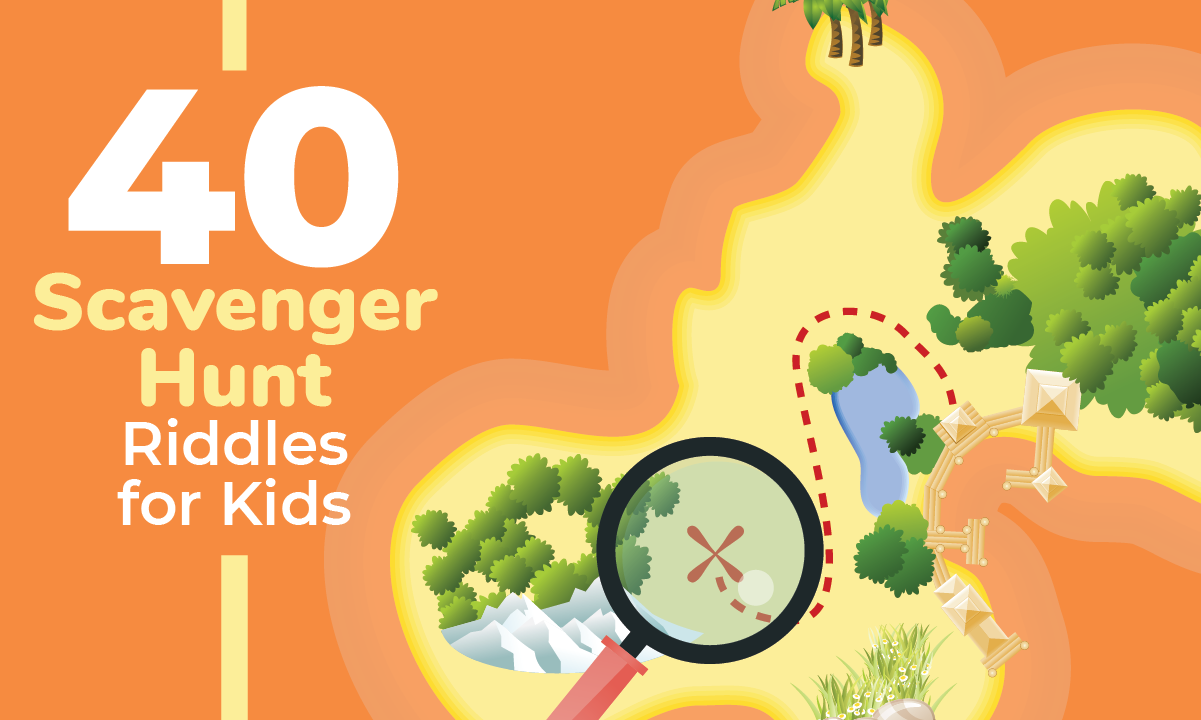 40 Scavenger Hunt Riddles For Kids