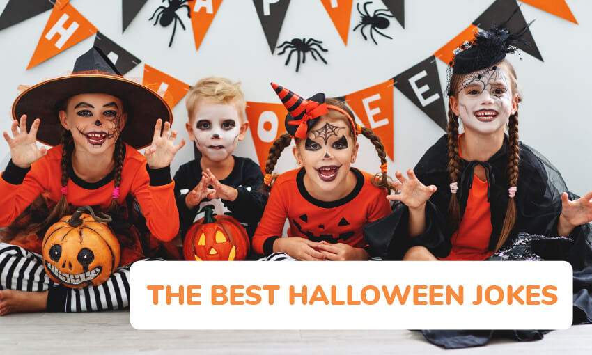 25 Funny Halloween Jokes For Kids Kid Activities