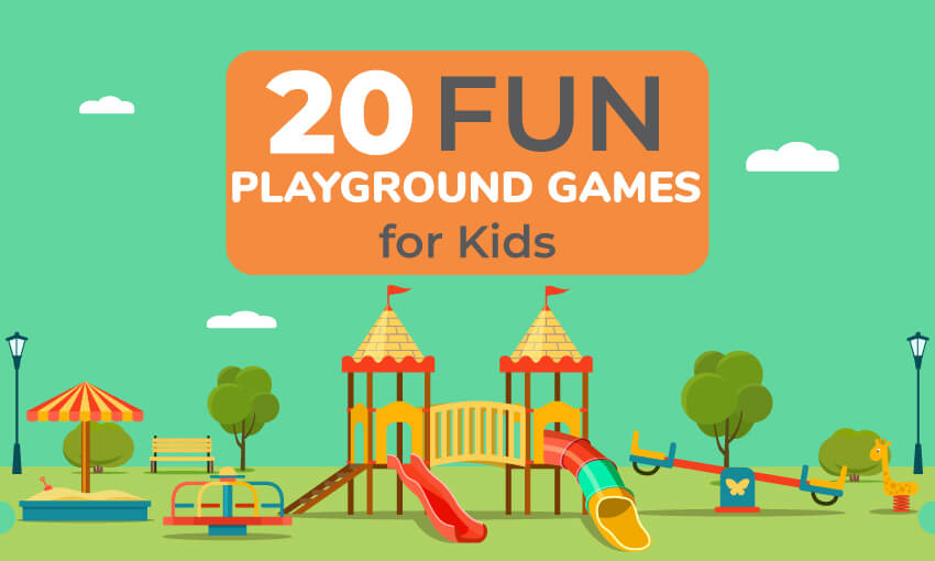 20 Fun Playgrounds Games for Kids - Kid Activities
