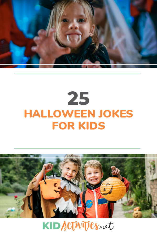 A collection of 25 funny Halloween jokes for kids. Great for kids to tell at school.
