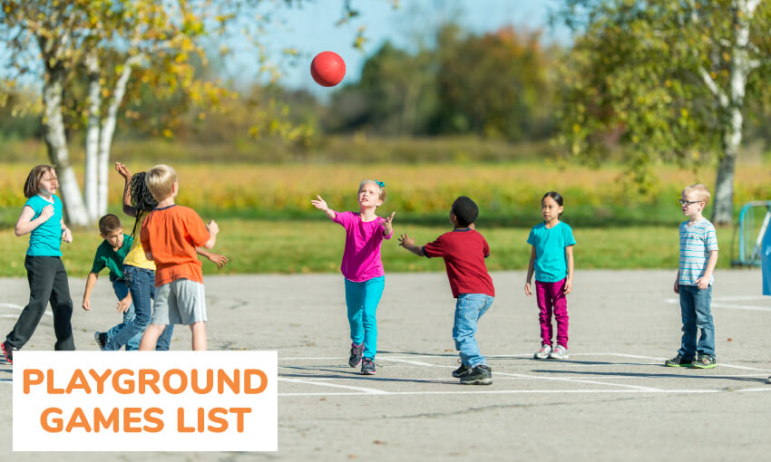 The ultimate playground games list. Get great game ideas for the school yard.