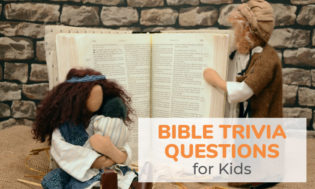 A collection of bible trivia questions for kids. Test kids bible knowledge with these great bible themed questions.