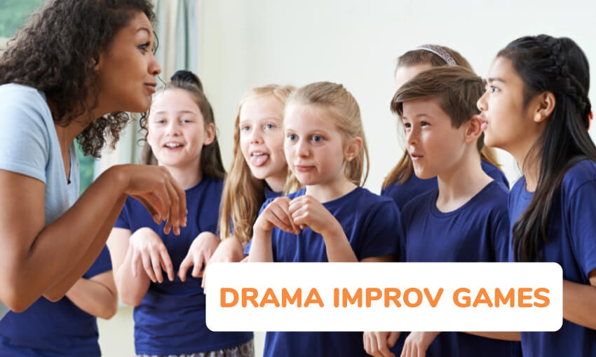 A collection of drama improv games