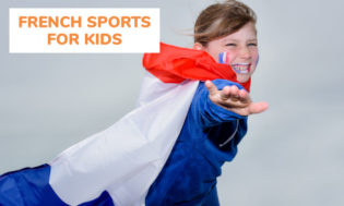 A collection of french themed sports for kids.
