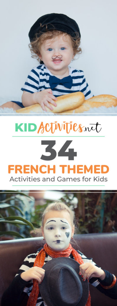 A collection of french themed games and activities for kids. These french activity ideas are great for a french themed day in the classroom. Play french games, practice french art, sing french songs, and much more.