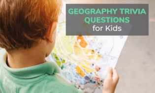 A collection of geography trivia questions for kids. See if your kids know the answers to these great geographical themed trivia questions.
