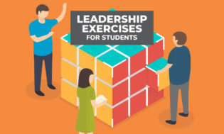 A collection of leadership exercises for students. Facilitate these exercises with your students to help them develop as leaders.