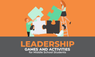 A collection of leadership games for middle school students. Let the kids have while developing important skills to help them become future leaders in whatever capacity they decide.