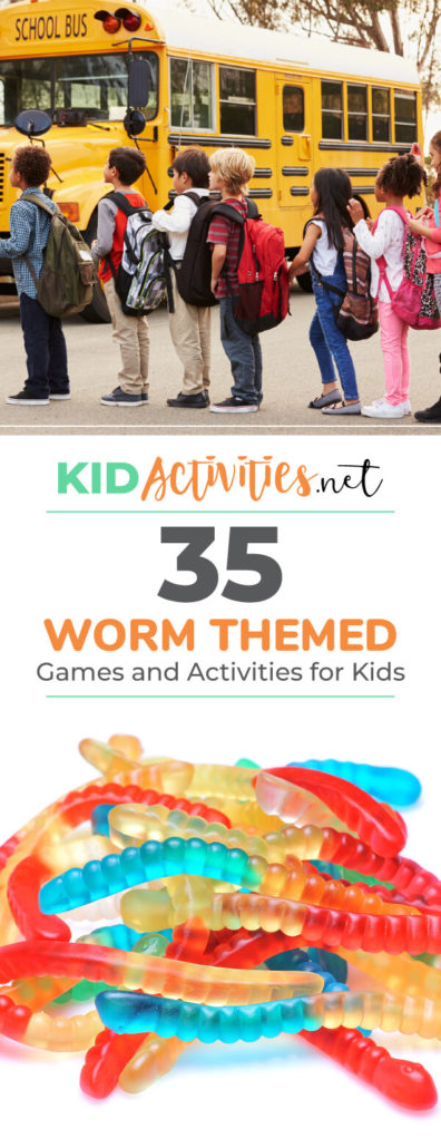 A collection of worm themed games and activities. Lots of fun and educational activities all about worms. This is great for a theme day all about worms. Find art, crafts, games, facts, and much more.