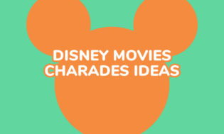 A collection of Disney movies for playing charades.