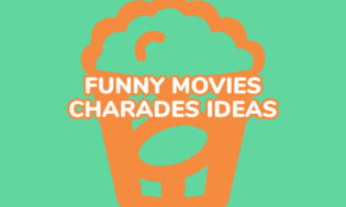 A collection of funny movie ideas for playing charades.
