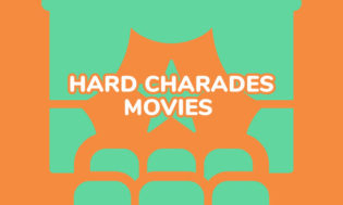 A collection of hard movies for charades.