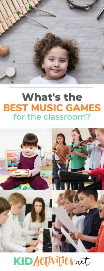 Những trò chơi âm nhạc tốt nhất cho lớp học là gì? Chúng tôi liệt kê ra 20 trò chơi kết hợp âm nhạc.