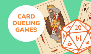 Card dueling games for kids.