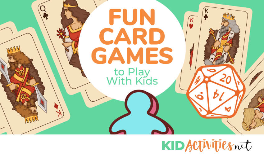 A collection of fun card games to play with kids.