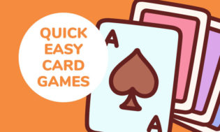 Quick and easy card games for kids.