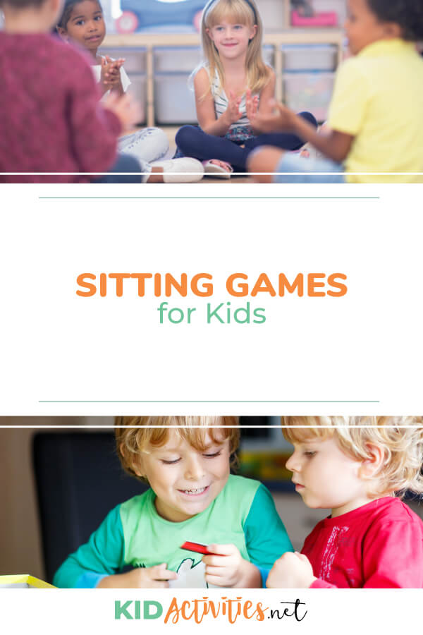 A collection of sitting games for kids.