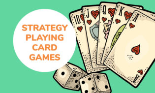 A collection of strategy playing card games for kids.